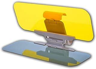 Car Windshield Tac Sun Visor Day and Night Anti-Glare - Zone Tech Premium Quality Universal Sunshade and Night Vision Anti-Dazzle Windshield Driving Visor UV protection