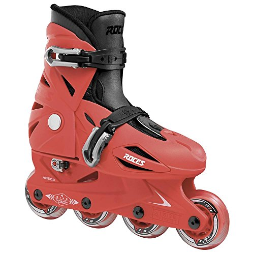 Roces Orlando 3 Kid's Inline Skates Sport Red Jr. 9-12 by Roces