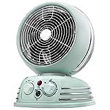 Calefactor Eléctrico 2000W, Calefactor Cerámico, 2H Temporizador, Protección SobrecalentamientoSistema Antivuelco Calentador de Espacio Portátil Para Oficina Dormitorio Familia