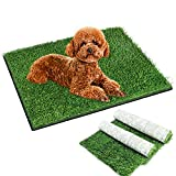 Snagle Paw Artificial GrassPad forDogs,16'x20' Puppy Lawn Pee Training mat,FakeGrass Dog Pads with Leak Holes,Washable DogPee GrassTurf,Ideal for Pet Potty Pad,Grass Doormat, Indoor Outdoor Use