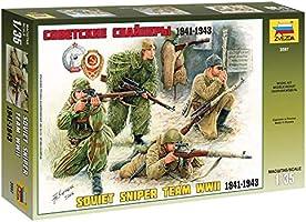 Zvezda 3597 1/35 Soviet SniperTeam Plastic Model Kit
