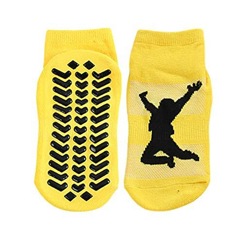 Freedomanoth Trampoline Non Slip Grips Enkelsokken Thickenin Ballet Barre Yoga Pilates Winter Warme Sokken, waardoor de enkel flexibeler, ademend en comfortabel