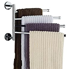Bekith 16 inch Wall Mounted Stainless Steel Bathroom Towel Bar