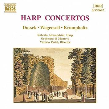 Dussek / Wagenseil / Krumpholtz: Harp Concertos