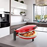 Chef Di Cucina Pizza Maker - Perfect Base with Ceramic Stone,...