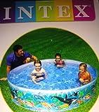 Intex Underwater Fun Swimming Pool- 6 Feet