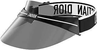 Authentic Christian Dior DIORCLUB 1 Visor 00H3 Black Grey Sunglasses
