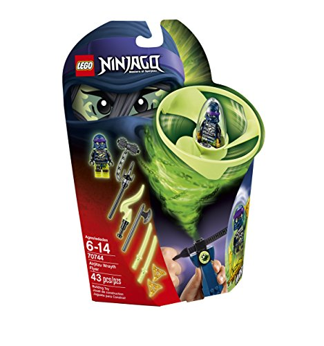 LEGO 70744 Ninjago Airjitzu Wrayth Flyer Building Kit by LEGO