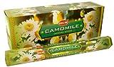 1 X Camomile - Box of Six 20 Stick Tubes, 120 Sticks Total - HEM Incense
