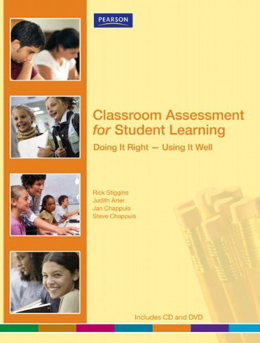 Classroom Assessment for Student Learning: Doing It...
