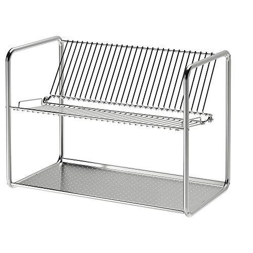 Escurridor IKEA ORDNING 27x36 cm acero inoxidable