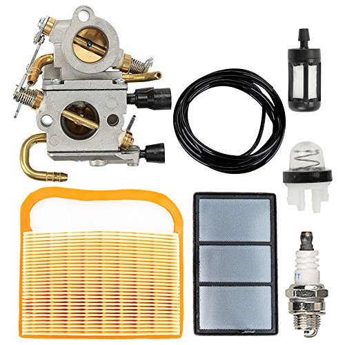 Butom TS420 TS410 Carburetor with Air Filter Tune Up Kit for TS410Z TS420Z Concrete Cut-Off Saw C1Q-S118 4238 120 0600 Carb
