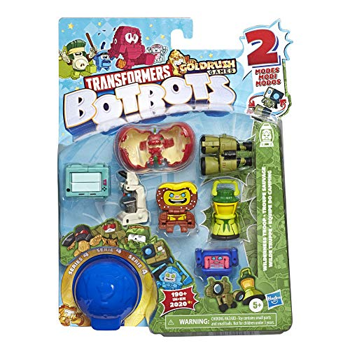 Transformers Toys BotBots Series 4 Movie Moguls 8-Pack – Mystery 2-in-1 Collectible Figures! Kids Ages 5 and Up by Hasbro