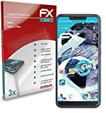 atFolix Schutzfolie kompatibel mit Wiko View 2 Plus Folie, ultraklare & Flexible FX Bildschirmschutzfolie (3X)