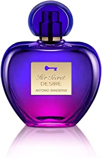 Antonio Banderas Her Secret Desire Eau de Toilette 80ml Spray