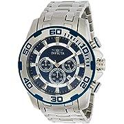 Invicta Men's Pro Diver Scuba 50mm Stainless Steel Chronograph Quartz Watch, Silver (Model: 22319)