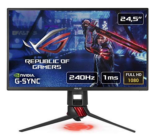 ASUS ROG STRIX XG258Q 25' (24.5') FHD (1920 x 1080) eSport Gaming Monitor, 1 ms, 240 Hz, DP, HDMI,...