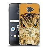 Head Case Designs Offizielle Catspaws Eule richtig auf der Nacht Tiere 2 Harte Rueckseiten Huelle kompatibel mit BlackBerry DTEK60