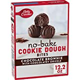 COOKIE MIX: Enjoy delicious chocolate brownie no-bake bites, a simple and easy snack to satisfy a craving in a single bite QUICK AND EASY: No baking is necessary, and go from the bowl to microwave in just minutes. Simply drizzle the topping included ...