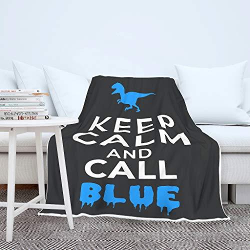 NiTIAN Blijf rustig en oproep blauw aan het plafond, nieuwigheid sprei, microvezel vele kleuren Reuzedoek in de winter