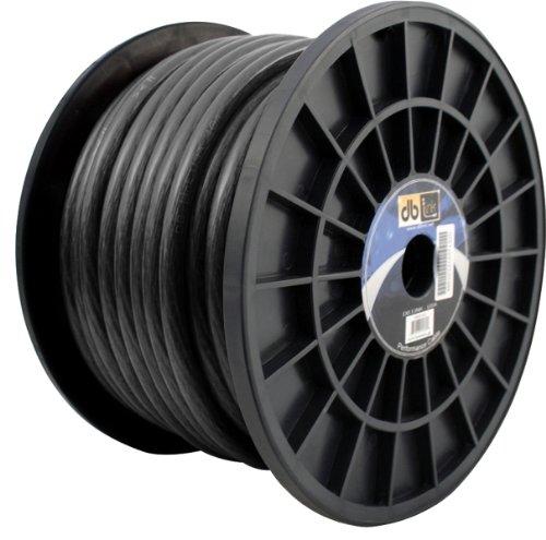 DB Link GW4BK100Z 4-Gauge 100-Feet Power Wire (Black)
