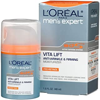 Loreal Mens Expert Vita Lift Anti-wrinkle and Firming Moisturizer - 1.6 Oz, Pack of 3