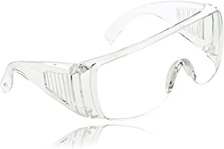 Eye Protection Goggles,Vankii Hygiene Protection Safety Prevent Splash Dust Eye Protection Glasses - Transparent