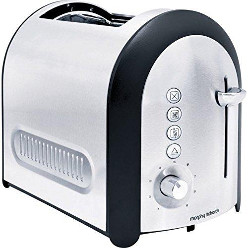 Morphy Richards 44341 Meno 2-Scheiben Toaster, gebürstetes Design