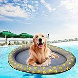 lembrd Hundepool Faltschwimmbad Portable Swimming Pool Raft Schwimmende Reihe Bett Aufblasbare Strand Spielzeug Für Hund Katze