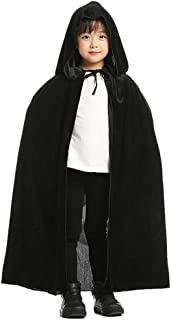 ALIZIWAY Kids Hooded Cloak Cape for Halloween Christmas Cosplay Costumes Y004BZ