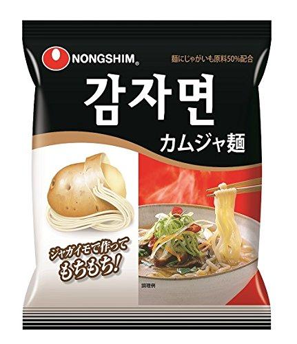 農心 カムジャ麺(袋) 100g×20個