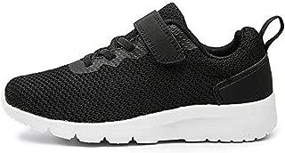 davidau Kids Lightweight Strap Sneakers Tennis Shoes for Boys Girls Toddler Little Kids