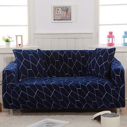 ABUKJM Funda de sofá de Felpa Espesa, elástico Todo Incluido para la Cubierta del sofá de la Sala de Estar, Terciopelo, a Prueba de Polvo, para Fundas protectoe Sofa (Color 1,3-Seater 190-230cm)