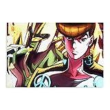JoJo's Bizarre Adventure Diamond Is Unbreakabl Anime Canvas Poster Decoración Dormitorio Deportes Paisaje Oficina Decoración Regalo Unframe: 50 × 75 cm
