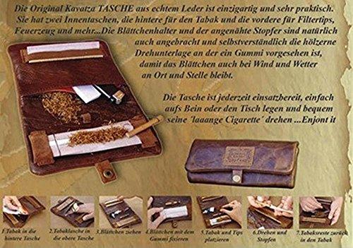 ORIGINALKAVATZA『巻きタバコ用レザーポーチ』