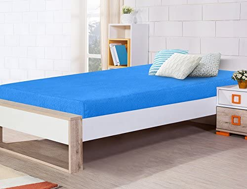 Olee Sleep 5 Inch Multi Layer Memory Foam Mattress Bunk Bed TrundleBed Youth Mattress Twin Blue product image