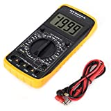 Digital-Multimeter, DT-9205A Hand-LCD-Multimeter AD/DC-Spannungsverstärker Ohmscher Kondensator Hz-Tester