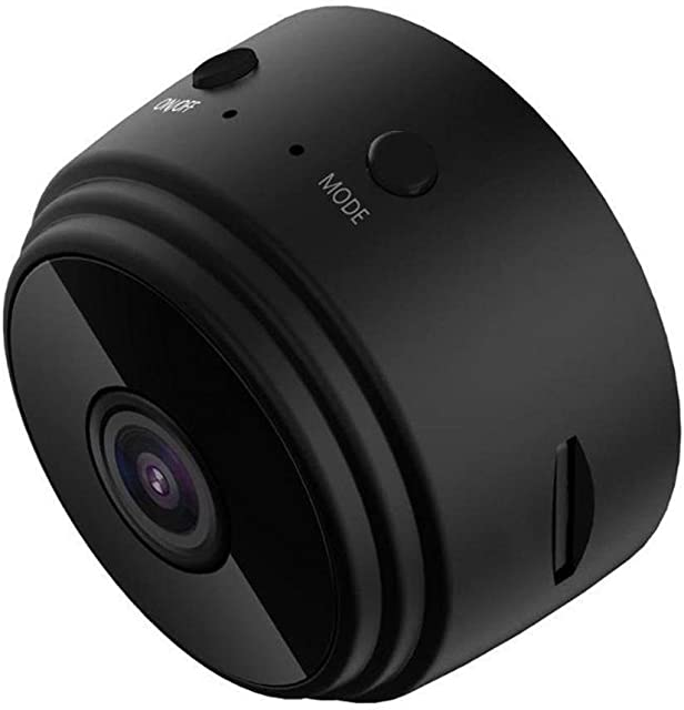 Skdvy Wireless Mini cámara de WiFi HD 1080P visión Nocturna por Infrarrojos Inicio cámaras de Seguridad CCTV IP de detección de Movimiento de Monitor de bebé Vista