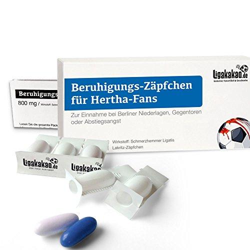 BERUHIGUNGS-ZÄPFCHEN® für Hertha-Fans
