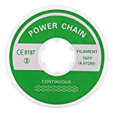 AZDENT Clear Dental Orthodontic Elastic Power Chain for Braces Closed Continuous Size Rubber Bands