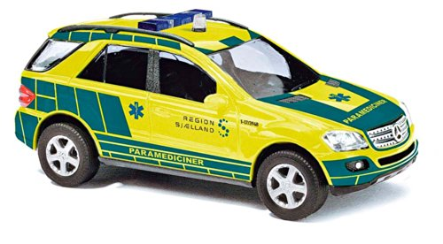 Busch Voitures - BUV49814 - Modélisme - Mercedes-Benz - Danemark Médecin d'Urgence - 2005