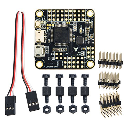 Wolfwhoop Betaflight OMNIBUS F4 Flight Controller Integrated OSD and 5V / 0.5A BEC FC Include PPM and RSSI for Drone