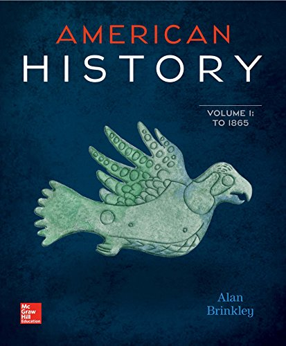 American History: Connecting with the Past Vol 1