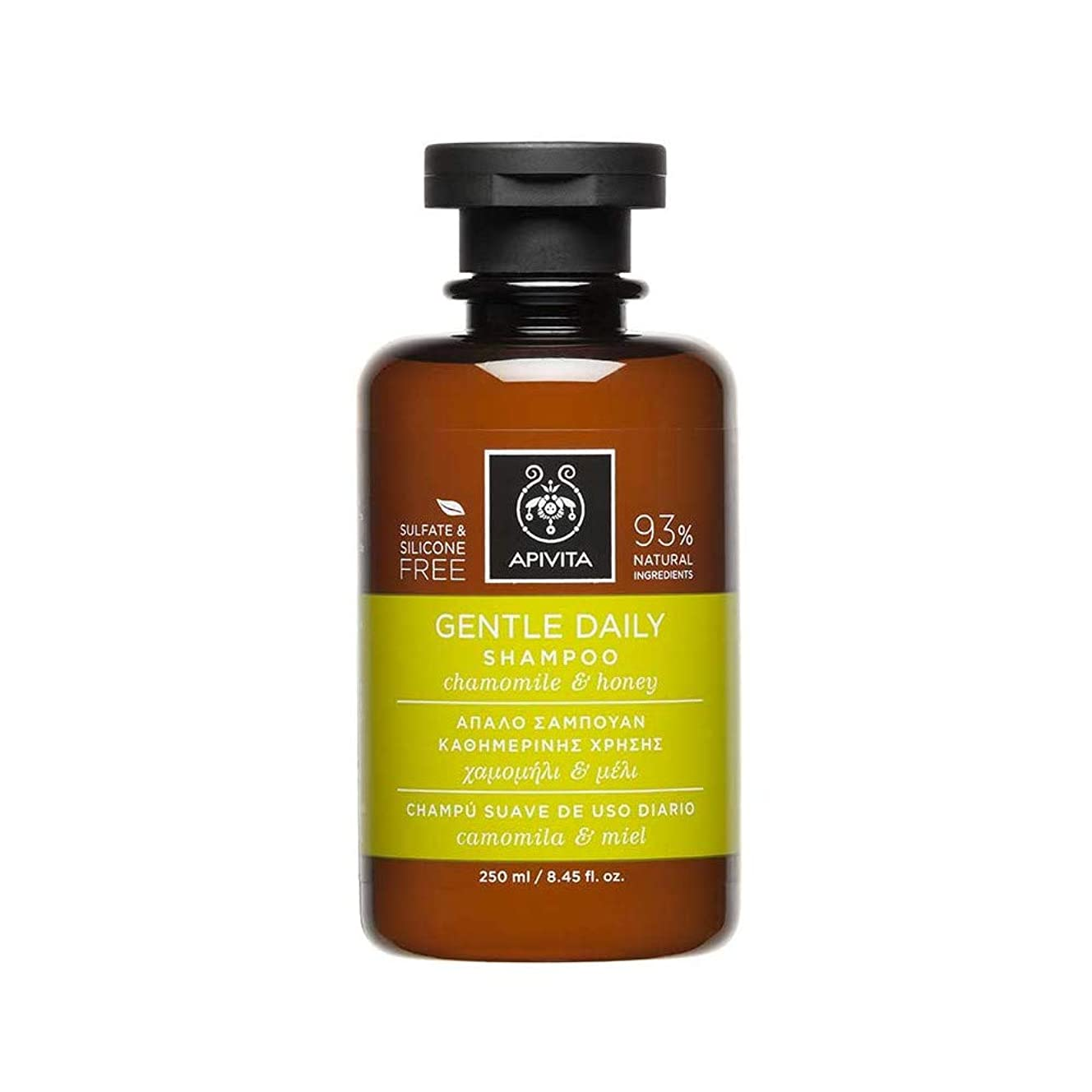 君主制意欲ガチョウアピヴィータ Gentle Daily Shampoo with Chamomile & Honey (For All Hair Types) 250ml [並行輸入品]