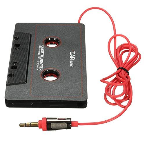 WMC Auto-Kassetten-Adapter-Kassetten-MP3-Player-Konverter für Pod und Telefon MP3 AUX-Kabel CD-Player 3,5 mm Klinkenstecker