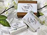 CREAMY TEASE Milky Way Ayurvedic Cold Processed Soap with Rice Milk and Olive Oil - Organic, Chemical Free, Handmade Bath Soap Bar for Face, Body, Skin Brightening (240 Grams, Pack of 2)