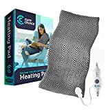 Best Electric Heating Pads - Cure Choice Large Electric Heating Pad for Back Review