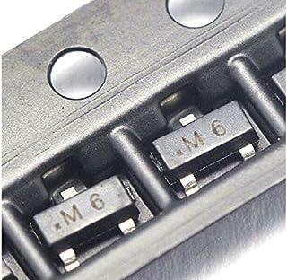 S9015 M6 0.1A/45V-SMD transistor PNP SOT23 power transistor (100pcs/lot)