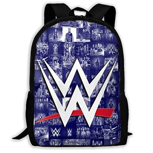 WW-E School Backpack Cartoon Daypack Shoulder Bag High School Book Bag Fit 15 Inch Laptop Bags