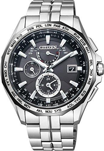 [シチズン]CITIZEN 腕時計 ATTESA アテッサ Eco-Drive エコ・ドライブ 電波時計 AT9096-57E メンズ
